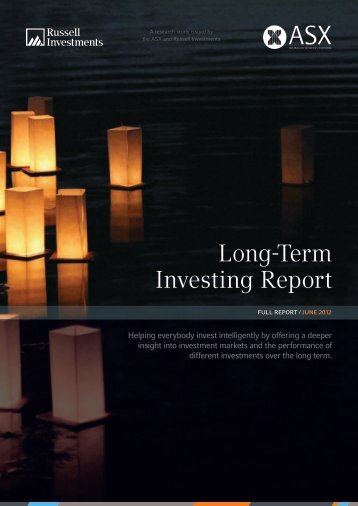 Long-Term Investing Report - Australian Stock Exchange