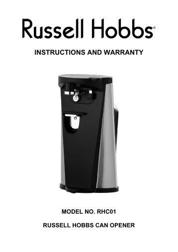 russell hobbs coffee maker manual