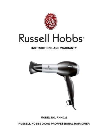 RHBM1500 Russell Hobbs Bakers Delight