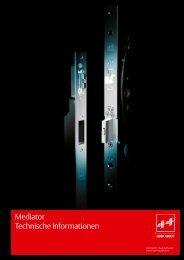 Mediator Technische Informationen - ASSA ABLOY