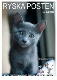 2/2010 - Russian Blue Klubben