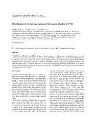 Identification of the beet cyst nematode Heterodera schachtii by PCR