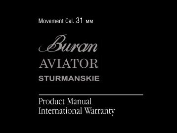 Product Manual International Warranty - Russia 2 All