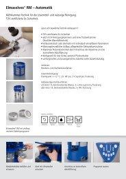 Elmasolvex-RM Prospekt - RUTECH Rupp GmbH