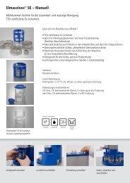 Elmasolvex-SE Prospekt - RUTECH Rupp GmbH