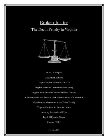 Broken Justice - The Rutherford Institute