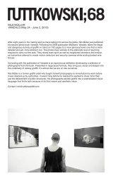 Available artworks, Nils Müller at Ruttkowski68.indd