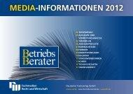 MEDIA-INFORMATIONEN 2012 - Deutscher Fachverlag