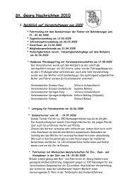 St. Georg Nachrichten 2010 1. Rückblick auf Veranstaltungen aus ...