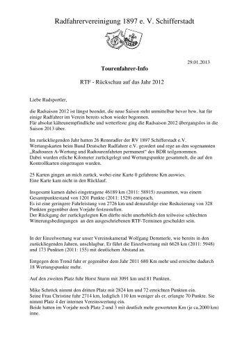 Zum Bericht - RV 1897 Schifferstadt