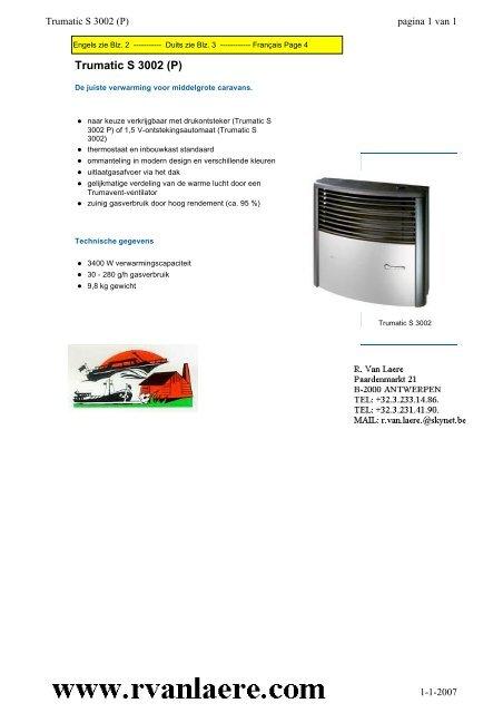 Trumatic S 3002 P Rvan Laere