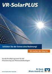 Prospekt (PDF) - RV Bank Rhein-Haardt eG