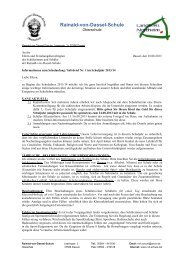 Infobrief Nr. 1 - RvD-Schule