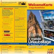 Info-Broschüre zur WelcomeKarte
