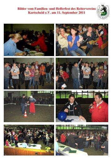 Bilder vom Familien Kurtscheid e.V. Familien- und Helferfest des ...
