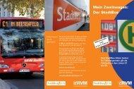 Umsteigeraktion StadtBus Ahlen - RVM