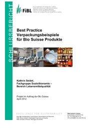 Best Practice Verpackungsbeispiele für Bio Suisse Produkte Kathrin ...
