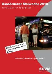 Osnabrücker Maiwoche 2010 - RVM