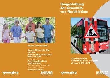 Umleitungen Nordkirchen - RVM