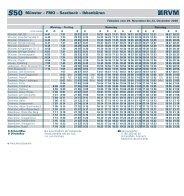 S50 Münster – FMO – Saerbeck – Ibbenbüren - RVM