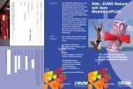 Bestellschein MobilAbo PLUS - RVM