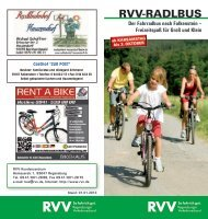 Fahrradbus Falkenstein 2013 - RVV Regensburger Verkehrsverbund