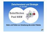 PDF, 4,3 MB - BahnflächenEntwicklungsGesellschaft NRW mbH