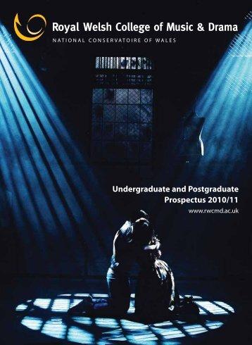 Undergraduate and Postgraduate Prospectus 2010/11