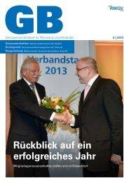 Genossenschaftsblatt 4/2013 - RWGV