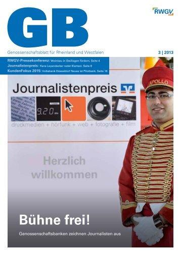 Genossenschaftsblatt 03/2013 - RWGV