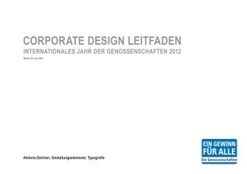 Corporate Design-Leitfaden - PDF - RWGV