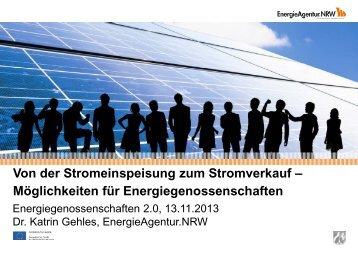 Von der Stromeinspeisung zum Stromverkauf ... - RWGV