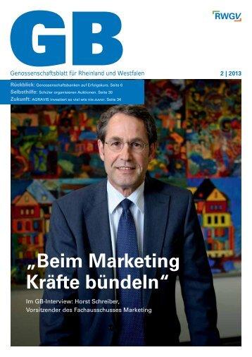 Genossenschaftsblatt 2/2013 - RWGV
