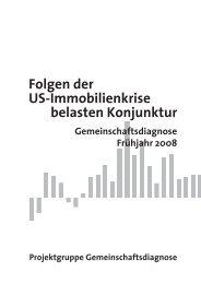 Folgen der US-Immobilienkrise belasten Konjunktur - Rheinisch ...