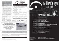Programm als PDF - The Bird's Eye