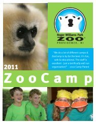 """We do a lot of different camps & ZooCamp is by far the best. It's fun ..."