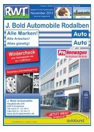 November 2012 - RWT - Magazin für die Südwestpfalz