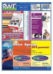 März - RWT - Magazin für die Südwestpfalz