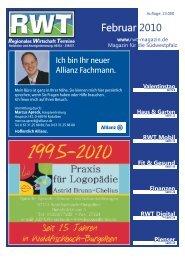 Februar 2010 - RWT - Magazin für die Südwestpfalz