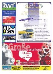 Februar 2011 - RWT - Magazin für die Südwestpfalz