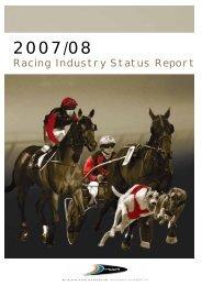 Western Australian Racing Industry Status Report 2007/2008 ( PDF ...
