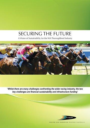 Securing the Future ( PDF 1358KB ) - RWWA Home