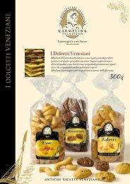 scarica il pdf scheda prodotto - MG Biscotteria Veneziana srl