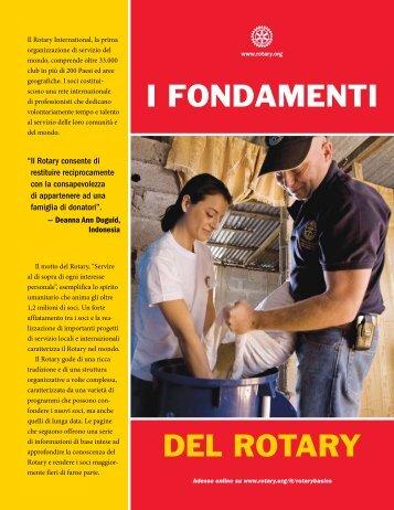 I FONDAMENTI DEL ROTARY - Rotary Youth Exchange