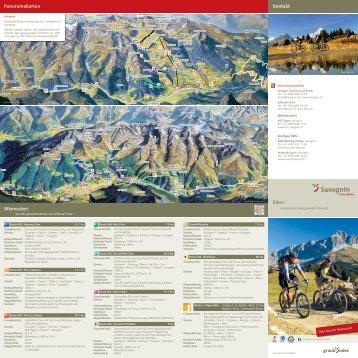 Biken Kontakt Panoramakarten Bikerouten - Tomas