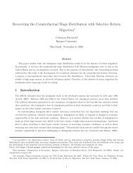 Recovering the Counterfactual Wage Distribution with Selective ...