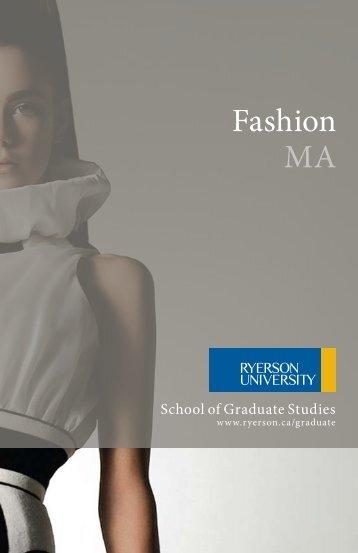 download brochure (pdf) - Ryerson University