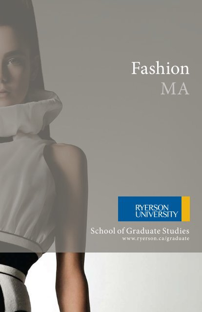 Download Brochure Pdf Ryerson University