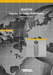 AVX/TPC HEARTFIM Cardiac Defibrillator Capacitor Catalog