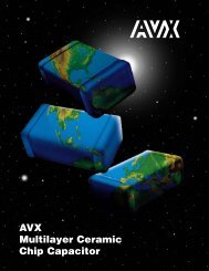 AVX Multilayer Ceramic Chip Capacitors Catalog - RYSTON ...